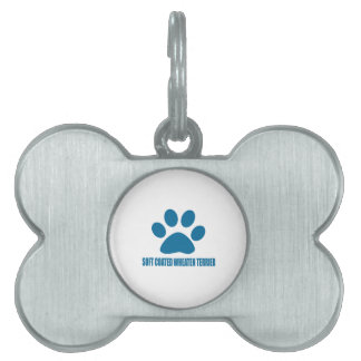 SOFT COATED WHEATEN TERRIER DOG DESIGNS PET NAME TAG