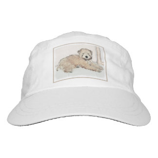 Soft-Coated Wheaten Terrier Puppy Painting Dog Art Hat