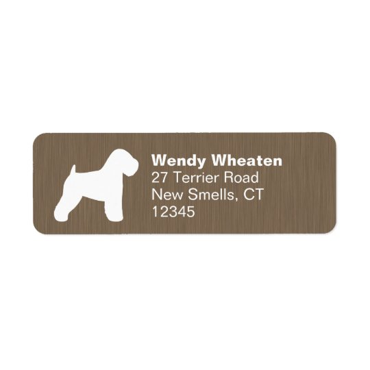 Soft Coated Wheaten Terrier Silhouette