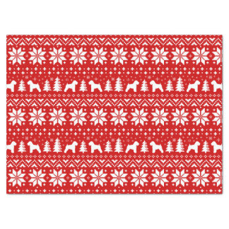 Soft Coated Wheaten Terriers Christmas Pattern Tissue Paper