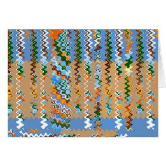 Soft Color Dream Waves : Enjoy Share Joy Card