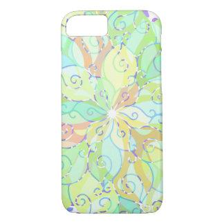 Soft Colors Abstract Mandala No 2 iPhone 8/7 Case