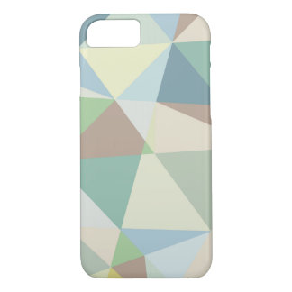 Soft Colors Geometric Pattern iPhone 7 Case