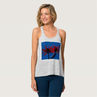 soft, comfortable women's tank with awesome design