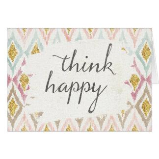 Soft Deco V | Think Happy Card