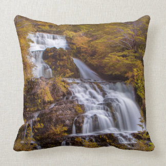 Soft Falls Throw Pillow