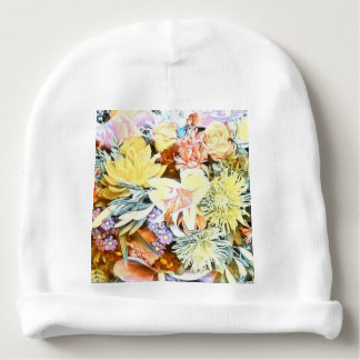 Soft Floral 1117 Baby Beanie