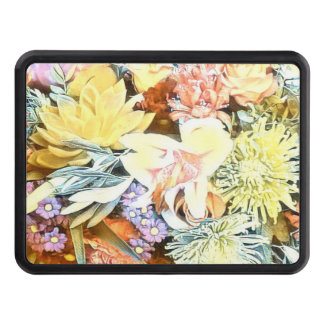 Soft Floral 1117 Trailer Hitch Cover