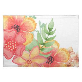 Soft Floral Placemat