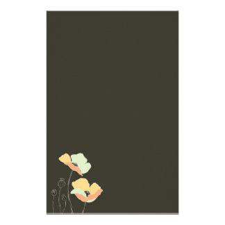 Soft Flowers ~ Stationery / Letterhead