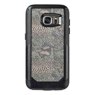 Soft Gray and Pink Snake Skin OtterBox Samsung Galaxy S7 Case