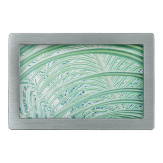 Soft Green Plant Palm Leaf Belt Buckles