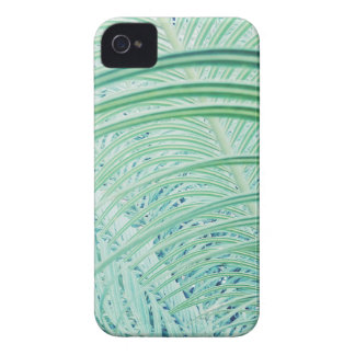 Soft Green Plant Palm Leaf iPhone 4 Case-Mate Cases