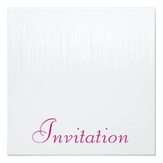 Soft Grey Static Rasberry All Events Card