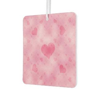 soft hearts A Air Freshener