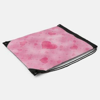 soft hearts A Drawstring Bag