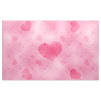 soft hearts A Fabric