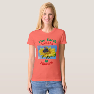 Soft hued tees for young women