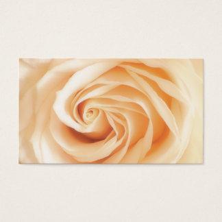 Soft Ivory Rose Business Card