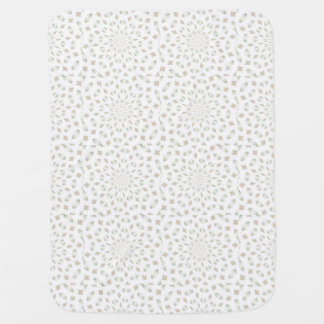 Soft Khakis Tans Kaleidoscope Quilt  Blanket