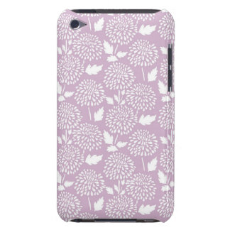 Soft Lavender Floral Barely There iPod Cover