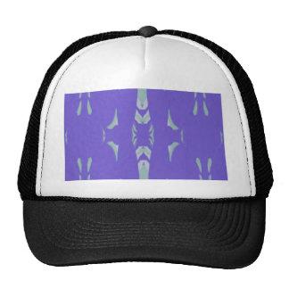 Soft Lavender Mint Green Artsy Pattern Trucker Hat