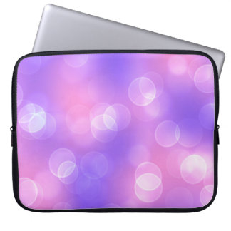 soft lights bokeh 1 laptop sleeve