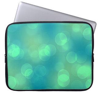 soft lights bokeh 1b laptop sleeve