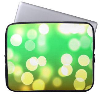 soft lights bokeh 3 laptop sleeve
