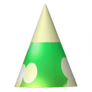 soft lights bokeh 3 party hat