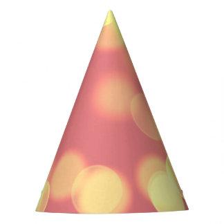 soft lights bokeh 4b party hat