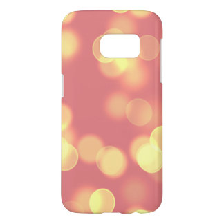 soft lights bokeh 4b samsung galaxy s7 case