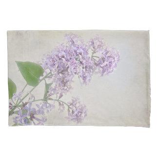 soft lilac bouquet pillowcase