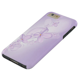 Soft Lilac Flowers Tough iPhone 6 Plus Case