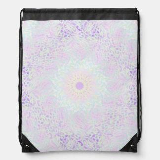 Soft Love Pastel Mandala (Big) Drawstring Bag