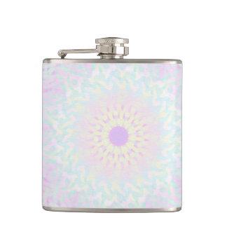 Soft Love Pastel Mandala (Big) Hip Flask