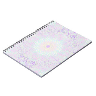 Soft Love Pastel Mandala (Big) Notebooks