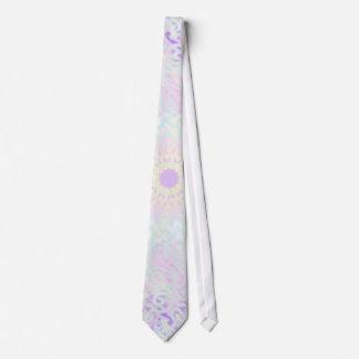 Soft Love Pastel Mandala (Big) Tie