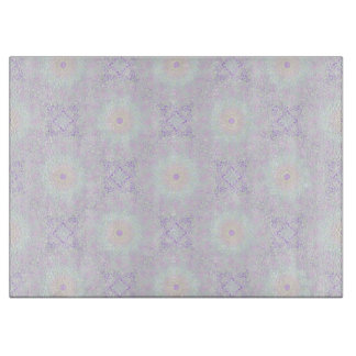 Soft Love Pastel Mandala Cutting Board