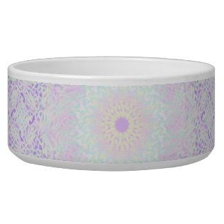Soft Love Pastel Mandala Dog Food Bowl