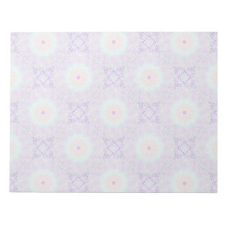 Soft Love Pastel Mandala Notepad