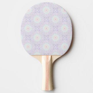 Soft Love Pastel Mandala Ping Pong Paddle