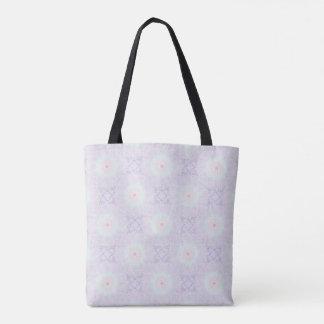 Soft Love Pastel Mandala Tote Bag