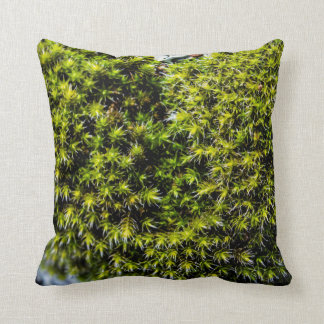 Soft Moss Throw Pillow