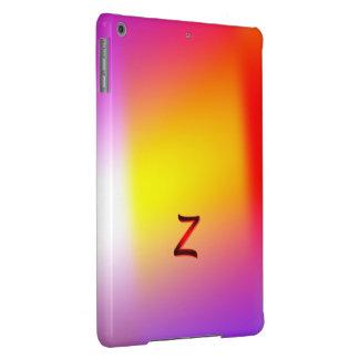 Soft Multicolored Monogram iPad Air cover