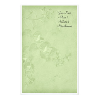 Soft Nature in Green Stationery