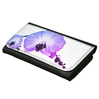 Soft Orchids Leather Wallets