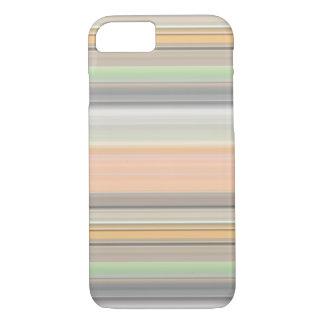 Soft Pastel Stripe Pattern iPhone 7 Case
