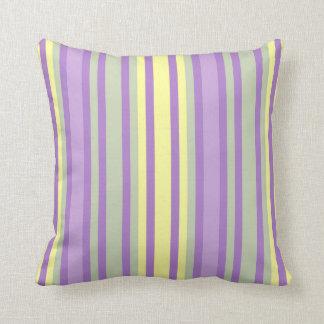 Soft Pastel Stripe Pillow