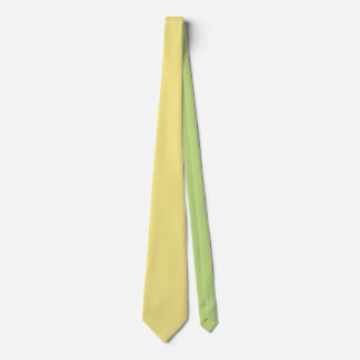 Soft pastel yellow decor ready to customize tie